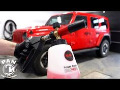 """NEW MJJC FOAM CANNON """"S"""" AND FOAM CANNON PRO !! TEST & REVIEW !! - YouTube Best Gifts For Men, Car Detailing, Cannon, Outdoor Power Equipment, Automobile, Youtube, Top Gifts For Men, Canon, Motor Car"""