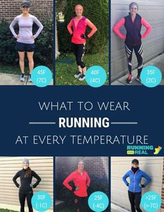 Winter Running Gear- What to Wear at Every Temperature Running For Real Running Wear, Running Race, Running Workouts, Running Tips, Trail Running, Running Outfits, Running Style, Running Humor, Running Quotes
