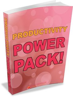 Productivity Power Pack! It's time to get stuff done! Free printable worksheets for time management, SMART goal setting, weekly progress journal, and more. Download your free worksheet bundle.