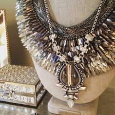 We're going a little #glam - Silver on silver is the way to go! #stelladotstyle