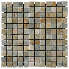 Golden White Tumbled Quartzite Mosaic Tiles - modern - Wall And Floor Tile - Mosaictiledirect