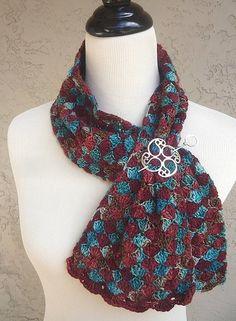 A Bolsa de Diamantes Crochet Scarf PADRÃO / PDF por MichelleBlohm