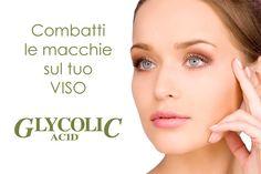 Linea viso acido glicolico antirughe e antimacchie
