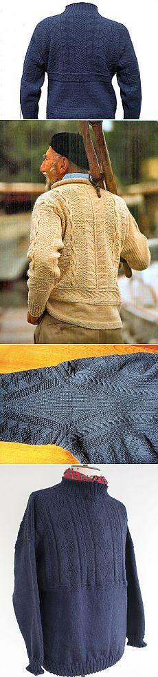 Ганзейский рыбацкий свитер: история возникновения и особенности вязания