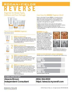 Erase the signs of premature aging, including brown spots, dullness, and sun damage with REVERSE