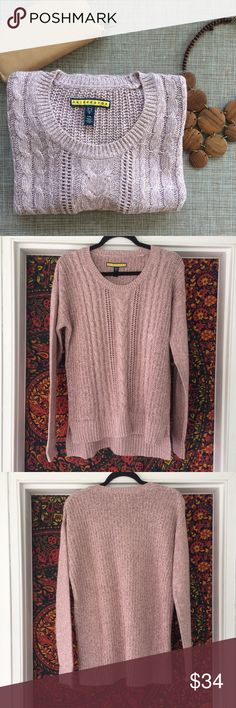Prince&Fox Knit Sweater Oh so soft and in a beautiful deep mauve color, you'll wish you had numerous multiples of this sweater! 💖 Gorgeous thick patterned knit. Subtle but still seriously pretty. Great length for leggings. Lovely for layering. New w/ tags. 🆕✨ Aeropostale Sweaters