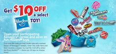 Kellogg's Canada and Hsbro Toy Offer: Get $10 off Select Toys
