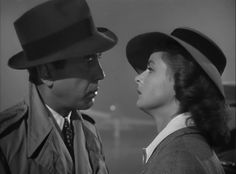 "Casablanca (1942): ""Here's looking at you kid."""
