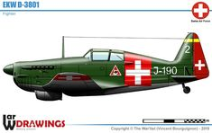 Swiss Air, Ww2 Aircraft, Cutaway, Airplanes, Military Vehicles, Switzerland, Motors, Air Force, Fighter Jets