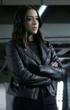 Change your style with this Chloe Bennet Agents of SHIELD Black Jacket. This Jacket is inspired from the TV Series Agents of Shield. Hurry Up! Agents Of Shield Daisy, Marvels Agents Of Shield, Daisy Shield, Chloe Bennett, Celebrity Travel, Celebrity Crush, Agents Of S.h.i.e.l.d, Hallowen Costume, Phil Coulson