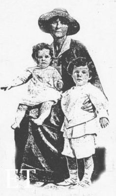"""Elizabeth """"Betty"""" Bretherton Ship: RMS Lusitania Passenger: 2nd class Nationality: American Residence: Santa Monica, California United States Death: May 7, 1915 2: 10 pm Cause: Titanic sinking (body recovered and buried in Old Church cemetery in Cobh, Cork Ireland) Age: 15 months old"""