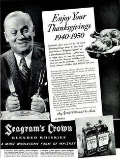 Thanksgiving-Vintage Magazine Ad