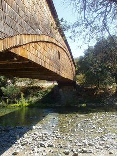 Covered Bridge - near Bridgeport California