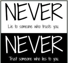 Amen. Lesson learned