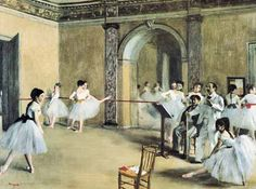 The dance foyer at the opera - Edgar Degas - Puzzles pieces: 1500 -- 1500 pcs (2901N16024G)