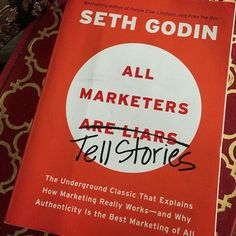 """This weekend's reading - @sethgodin """"All Marketers Tell Stories"""", very interesting. Are your business good enough at telling stories? What image do you present of who you are? Would you like to know more about how you can reach your customers in a much more fun and interesting way? #workaholiday24seven #pr #selfemployed #onlinecourse #blog #entrepeneur #marketing #marketingdigital #marketingtips #marketingonline #marketingstrategy #startup #startups #digitalnomad #digitalnomads…"""