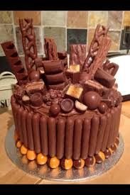 Image result for chocolate cake curly wurly twix