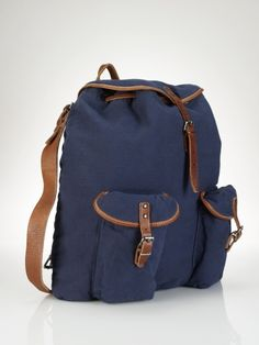 Canvas Loaser Backpack - Polo Ralph Lauren Bags & Business - RalphLauren.com