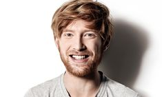 Domhnall Gleeson :) If my husband had full head of hair this soft then the two would be identical twins. I want to grab that hair dang it.