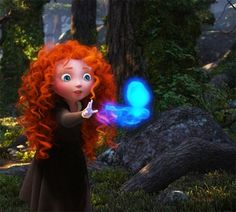 little merida with a sprite