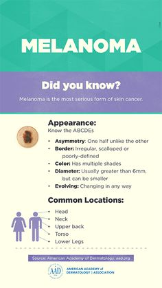 Melanoma: Tips for talking with your dermatologist Dermatology Nurse, Anatomy And Physiology, Head And Neck, Cancer Awareness, Medicine, Doctor Stuff, American, Biology, Media Marketing