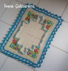Tapete desafio ( Artesã Ivana Guimarães)