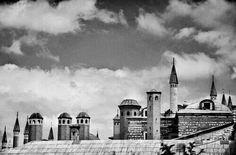 Istambul palas Topkapı Paris Skyline, Taj Mahal, Landscapes, Castle, Building, Travel, Paisajes, Scenery, Viajes
