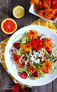 "We collected some creative ways to enjoy zucchini noodles — or ""zoodles"" as they're fondly called — from dietitians around the web."