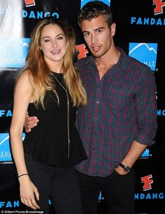 """Shailene and Theo James """"DIVERGENT"""" Go see it"""