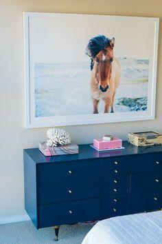 minted artwork, large art print, horse print — via @TheFoxandShe