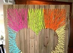 How to Make Fun and Easy Heart String Art Craft