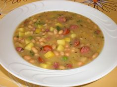 Weiße Bohnen-Suppe, ein sehr schönes Rezept aus der Kategorie Eintopf. Bewertungen: 19. Durchschnitt: Ø 4,3.