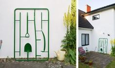 Assorted Garden Assembly by MICHAEL JOHANSSON.