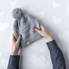 Ravelry: February Hat pattern by Kate Gagnon Osborn Knitting Charts, Knitting Stitches, Knitting Needles, Knitting Patterns Free, Baby Knitting, Crochet Patterns, Hat Patterns, Crochet Ideas, Free Pattern