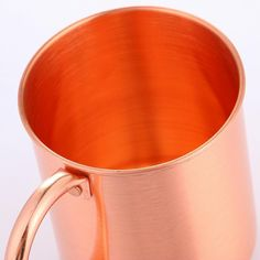 Pure Copper Moscow Mule Mug 14OZ Solid Smooth Cocktail Coffee Beer Milk Water  #mumu #Classic