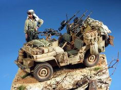 Track48 - REVIEWS/ARTICLES/GALLERIES - Gallery WWII - SAS Jeep by Francesco Senatore