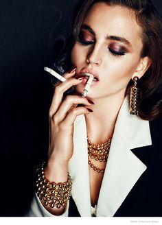 Gold Jewelry Beauty: Tilly by Chris Nicholls for Dress to Kill