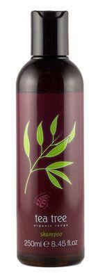 Organic Tea Tree Shampoo keeps your hair & scalp shiny & healthy!