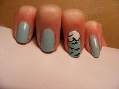 Simple summer/spring nail art tutorial.