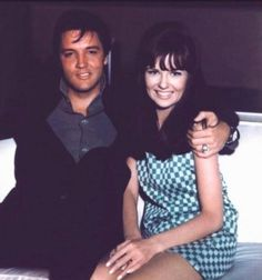 Elvis and Shelley Fabares c. 1966