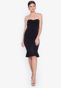 Frill Hem Midi Dress – Heather Clothing Color Swatches, Fabric Swatches, No Frills, Hemline, Size Chart, Slim, Formal Dresses, Clothing, Fashion