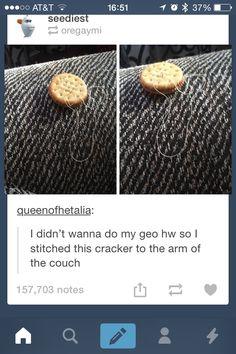 Tumblr funny - The most impressive form of procrastination I've seen today