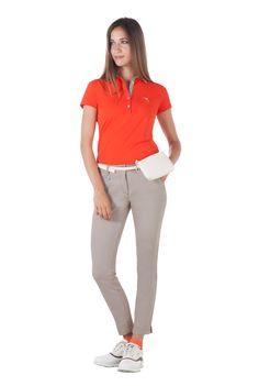 Chervo ARNY Dry Matic Polo lg.A DA XVI Lady, Flamingo, Polo, Women, Fashion, Woman, Flamingo Bird, Moda, Polos