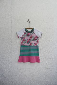 T Shirt Dress Recycled T Shirt Dress by cynthiamadeforkids on Etsy