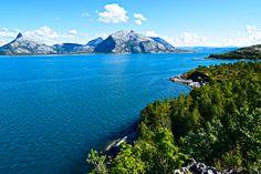 Utsikt mot Folda fra Kjerringøy     http://www.tursiden.no/utsikt-mot-folda-fra-kjerringoy/