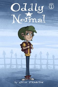 Oddly Normal endures the bullying of other kids for her green hair and pointed ears. Oddly got those traits from her mother, who is a witch, but didn't get the ability to use magic along with them. Or so she thought. How will Oddly navigate the perils of a magical middle school and find her parents? And will she ever find a place where she's accepted? Oddly is going to have to learn to stand up for who she is if she's ever going to have any hope of being happy, wherever she ends up.
