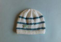 Reno Striped Baby Hat | AllFreeKnitting.com