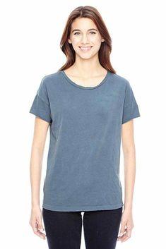 Burnout Shirt Alternative Roupas Blend Mélange Womens T Kimber PnqPStwxF6