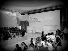 Fashion Show using fabric shapes