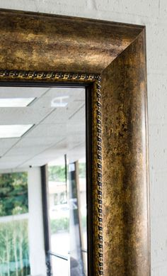 Bathroom Mirrors Custom mal-0428 - brown framed mirror | large mirror | bathroom mirror